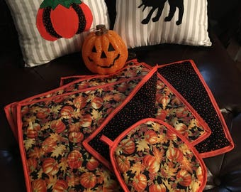 Table placemats for fall