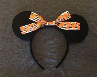 Pumpkin and Candy Corn Mickey Ears