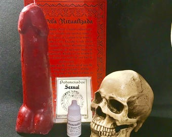 "Ritual KIT ""Sexual enhancer"" with instructions I wicca I spell i witchcraft I spells i witchcrafts I witches I rituals I"