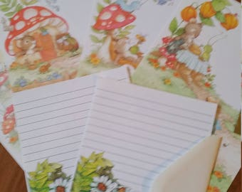 Vintage Stationery Collection ~ Sweet Mice and Mushrooms - Current Tiny Tales