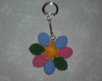 Keychain made of felt and cotton