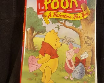 Winnie The Pooh A Valentine For You VHS