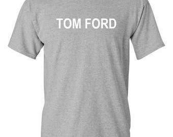 Tom Ford Sports Grey T-Shirt