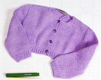 Tutorial shoulder warmer for girl