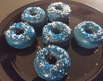 Set of 6 Doughnut Soy Wax Melts - Blueberry Cobbler