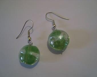 Vienna Green 1 Stud Earrings