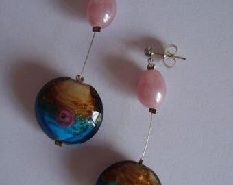 Earrings with pearls fantasies