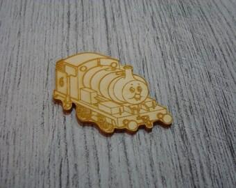 Train 1528 embellishment wooden creations