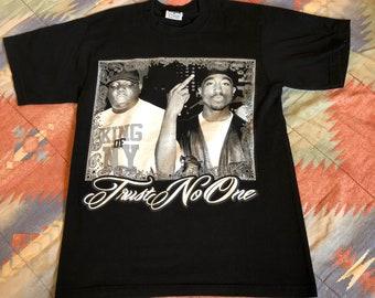 VTG Tupac & Biggie Rap Tee