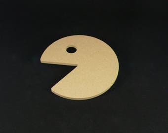 "medium ""pac man"" blank shape"