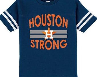 Houston Strong, Texas Strong, Houston Astros, Baseball T-shirt, Kids Baseball Tee, Kids Baseball, Baseball, Kids Astros Shirts, Houston Tx