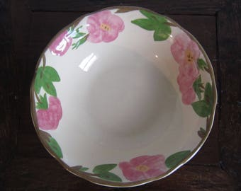 "Franciscan- Desert Rose Pattern 9"" round Vegetable Bowl!"