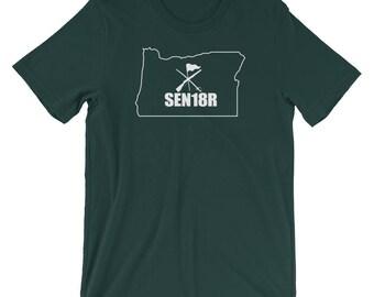 Oregon Color Guard 2018 Shirt, Graduating Senior 2018 Color Guard, Oregon State ColorGuard Shirt, SEN18R Color Guard Gift