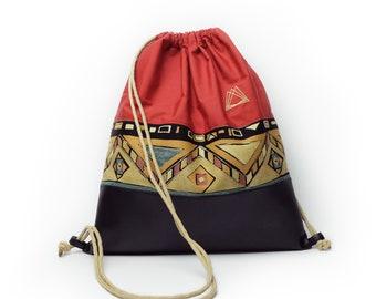 Tassort drawstring backpack