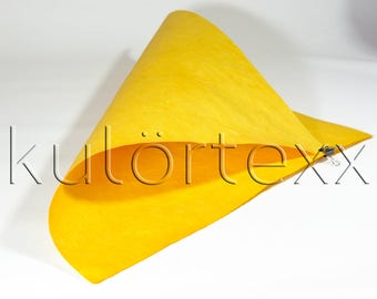 kulörtexx Sun yellow 50 cm x 150 cm 0, 5 mm strong