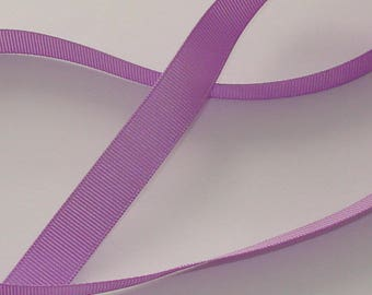 5 m satin ribbon 16mm wide purple grosgrain Ribbon