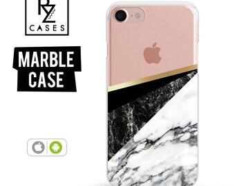 Marble Phone Case, Marble Case, Geometric Case, Marble, iPhone 7 Case, iPhone 6 Case, iPhone 7 Plus, iPhone 6 plus, Samsung Galaxy Case