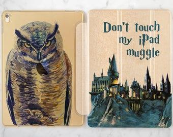 iPad harry potter iPad case 9 7 iPad case castle iPad case 12 9 Harry Potter case iPad case 10 5 iPad 2017 case ipad golden case iPad flip