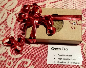 Green Tea Soap~ Ready to give!