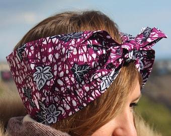 African Ankara headband
