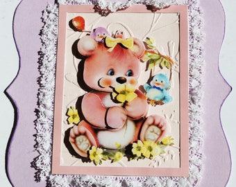 Birth or birthday card
