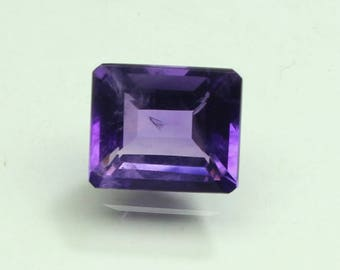 aaa Amazing Natural purple African Amethyst size 10x12mm  faceted 1 PC octagon code :- AQ06