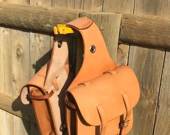 US Cavalry style saddlebags