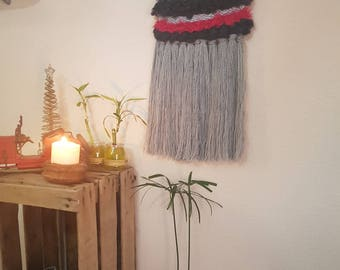 Wool wall tapestry, decorative mural bobo Chic Handmade, customizable designs to your liking in a short time