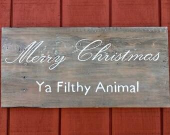 Rustic Christmas Sign//Rustic Christmas Decor//Wood Signs//Wood Wall Art//Custom Signs//Christmas Decorations//Christmas Gifts//