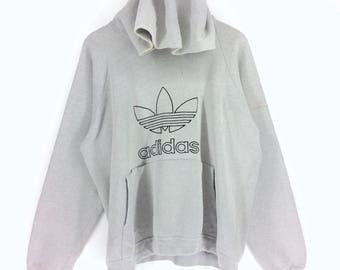 Vintage Adidas Trefoil Sweatshirt Adidas Hoodie Adidas Trefoil Nice Design