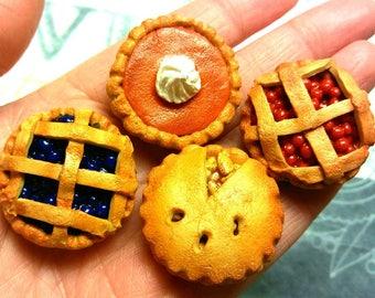 Mini Pie Magnet set