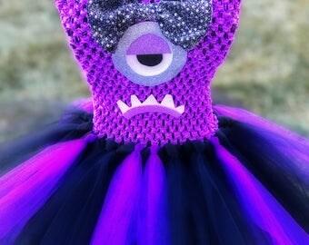 Adult Evil Minion Tutu Dress