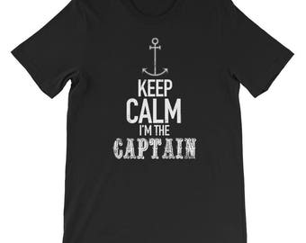 Keep Calm I'm The Captain Boating Gifts Boat Captain Gift Nautical Gifts Lake Gifts River Gifts