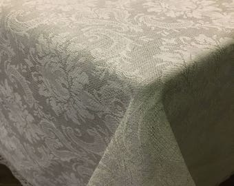 Linen Tablecloth, table top, table cover, Christmas Tablecloth