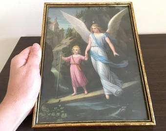 Vintage paintings - Retro picture - Vintage picture - Beautiful vintage paintings with gold frame