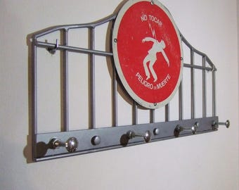 Coat rack, hanger, metal, industrial style, decoration industrial, Vitange coat rack