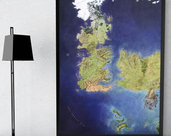 Game of Thrones map, Seven Kingdoms, Westeros, Winterfell house, Stark Seven Kingdoms map, Ice and Fire, Westeros map, Stark game of Thrones
