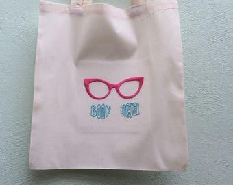 Book Nerd Canvas Bag