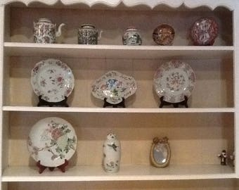 Antique China 10 pieces. 1800's. Famille Rose.