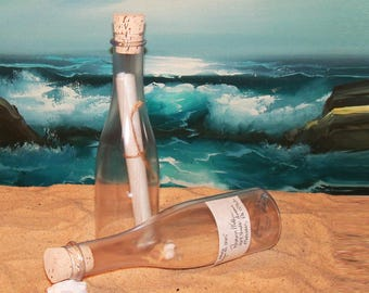 Message-in-a-Bottle Invitation