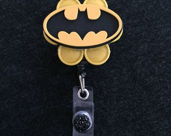 Batman Medicine Cap Badge Reel