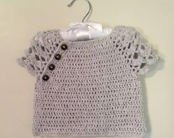 Lace Crochet Sweater