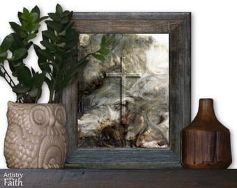 Decorative Cross, Religious Wall Art, Religious Art, Spiritual Art, Religious Decor, Christian Home Decor, Christian Wall Decor