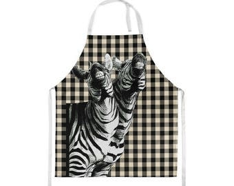 Funny Apron,Aprons for Women, Zebra,Apron,Chef Apron,Kitchen Apron,Funny Gift,Cleaning Apron, Get on your wild side and have a good laugh!