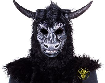 Tauron ; minotaur mask