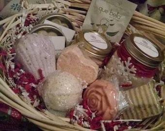 Aromatherapy Spa Gift Baskets and Box Sets