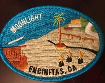 California Surf Patch - Moonlight Beach - Encinitas CA