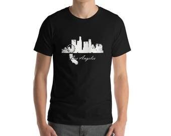 Los Angeles Tshirt Etsy