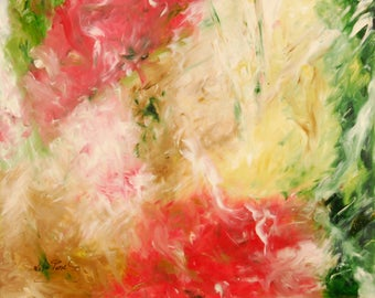 """Abstract painting """"Autumn Movements"""""""