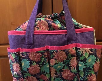 Tote bag with 14 pockets